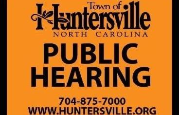 Rezoning/Public Hearing Sign