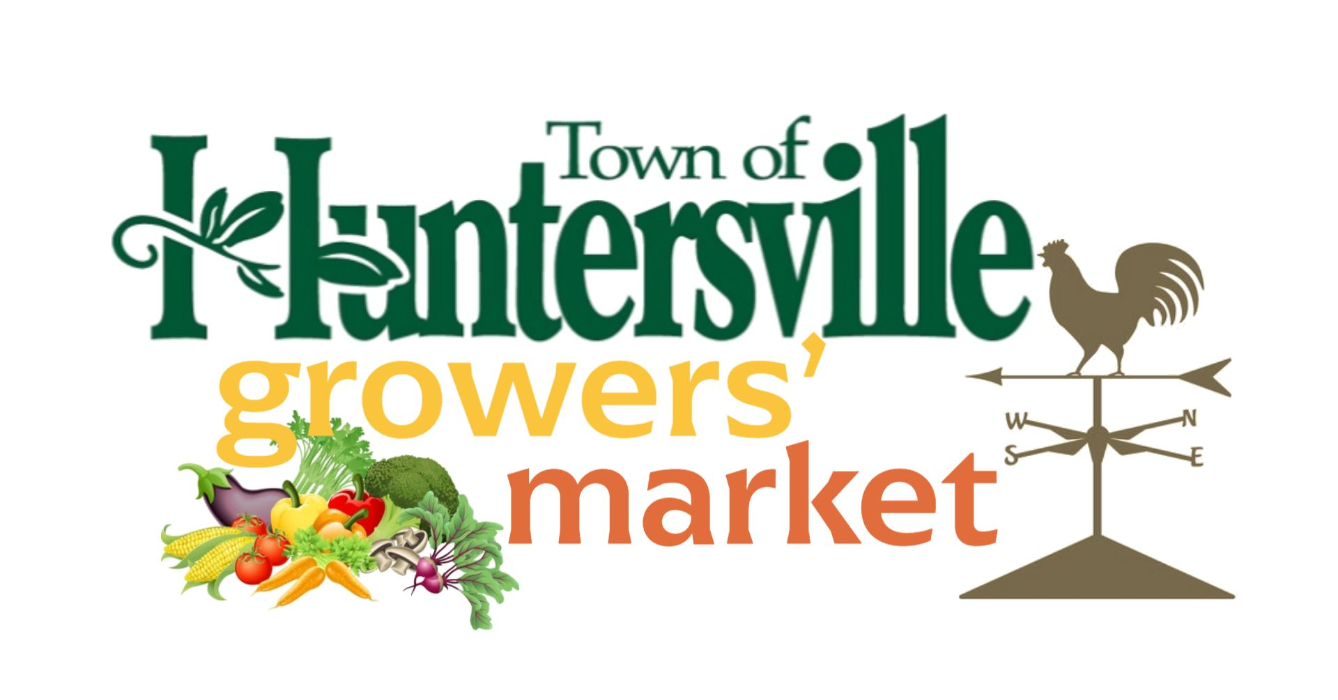 Huntersville Growers' Market Logo