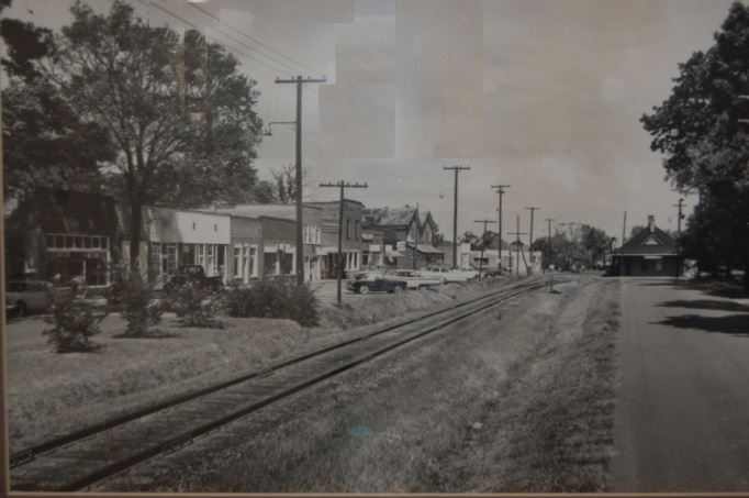 Downtown Huntersville Main Street - 1959