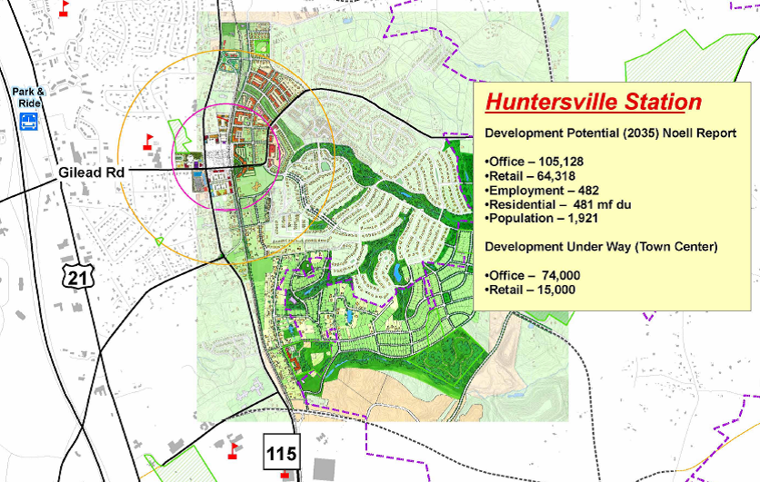 East Huntersville Small Area Plan