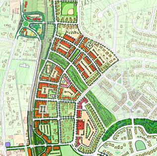 HCP Map I-3 East Huntersville Area Development Plan